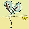 ID 3140429 | Maus und Käse | Stock Vektorgrafik | CLIPARTO