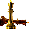 Schach-Könige | Stock Vektrografik