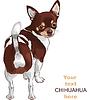 Skizze Hund Rasse Chihuahua