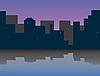 Miasto rano | Stock Vector Graphics