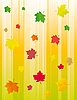 ID 3055359 | Hintergrund mit Herbstlaub | Stock Vektorgrafik | CLIPARTO