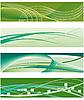 Zestaw banerów do projektowania | Stock Vector Graphics