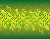 Abstrakter grüner Mosaik-Hintergrund | Stock Vektrografik
