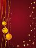 Kartki świąteczne z kulkami | Stock Vector Graphics