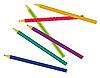 彩色铅笔 | 向量插图