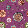 Nahtloses ornamentales Farbmuster | Stock Vektrografik