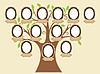 Семейное дерево.  Пустые фреймы и теги имен отдельно сгруппированы.  Вы можете легко дублировать их или удалять по...