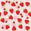 Nahtloser Erdbeerhintergrund