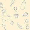 Baby-Muster | Stock Vektrografik