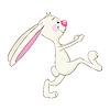 Zabawny królik | Stock Vector Graphics