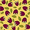 Nahtloser Blumenhintregrund | Stock Vektrografik