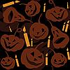 Nahtloser Halloween-Hintergrund | Stock Vektrografik
