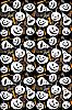 Halloween tła bez szwu | Stock Vector Graphics