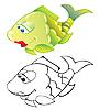 Pescado | Ilustración vectorial