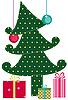 ID 3054976 | Weihnachtsbaum mit Geschenken | Stock Vektorgrafik | CLIPARTO