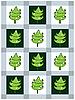 전나무 나무와 새 해 카드 | Stock Vector Graphics