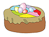 Easter pie | Stock Vector Graphics