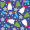 Nahtloses Weihnachtsmuster | Stock Vektrografik