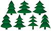 전나무 | Stock Vector Graphics