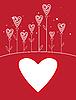1042-Valentines Liebe Blume | Stock Vektrografik