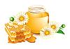 Honig und Kamillen