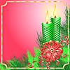 ID 3052303 | 촛불 크리스마스 카드 | 벡터 클립 아트 | CLIPARTO