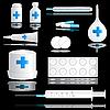의료 아이콘을 설정 | Stock Vector Graphics