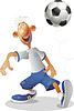 Fußball-Spieler | Stock Vektrografik
