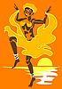 ID 3078852 | Karnawał tańca | Klipart wektorowy | KLIPARTO