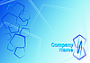 ID 3054598 | Niebieskie tło pięciokąta | Stockowa ilustracja wysokiej rozdzielczości | KLIPARTO