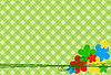 florale Grusskarte in Pastell-Farben