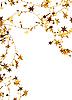 ID 3108446 | Goldene Sternen und Pailletten als Hintergrund | Foto mit hoher Auflösung | CLIPARTO