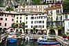 ID 3112301 | Italien. Gardasee. Limone sul Garda Stadt | Foto mit hoher Auflösung | CLIPARTO