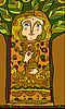 Девушка-дерево | Векторный клипарт