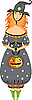 ID 3118092 | Halloween - Hexe | Stock Vektorgrafik | CLIPARTO