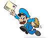 Briefträger | Stock Vektrografik