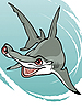 Акула-молот | Векторный клипарт