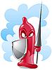 콘돔 보호자 | Stock Vector Graphics