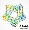 Абстрактный красочный фон | Векторный клипарт