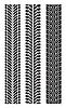 ID 3138453 | 重复轮胎轨道 | 向量插图 | CLIPARTO