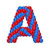 ID 3138623 | Буквица из воздушных шариков | Векторный клипарт | CLIPARTO