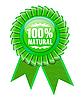 Zeichen vom umweltfreundlichen Produkt