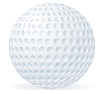 Golf ball | Stock Vector Graphics