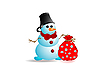 ID 3090582 | Snowman | Klipart wektorowy | KLIPARTO