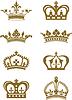 Векторный клипарт: Короны