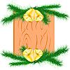Oddziałów i świąteczne dzwonki | Stock Vector Graphics