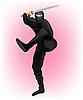 Japanischer Krieger Ninja