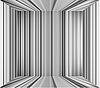 Leerer grauer Innenraum-Hintergrund