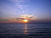 Sonnenuntergang über dem Meer | Stock Foto