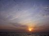 Sonnenuntergang über Meer | Stock Foto